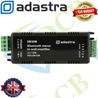 Adastra Bluetooth 4.0 Compact Digital In Wall Stereo Audio Amplifier 2 x 15W
