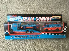 Matchbox Super Stars TEAM CONVOY RICHARD PETTY 43 STP Limited Edition with box