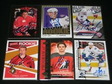 CHRIS PHILLIPS autographed '95/96 Upper Deck CANADA rookie card OTTAWA SENATORS