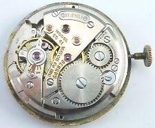 Benrus Model EC41  Wristwatch Movement -  Spare Parts, Repair