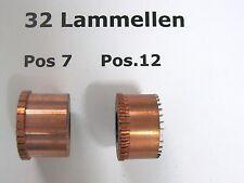 1x Kollektor mit 32 Lammellen Kommutator Kupfer Ersatzteil Elektro Maschinen