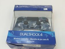 Sony Dualshock 4 Wireless Controller for Sony Playstation 4 - Blue Camo