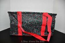 Thirty One MEDIUM Utility Tote in Holly Dot- NEW