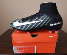 🔥🔥New Nike Mercurial Veloce III DF FG Soccer Cleats 831961-013 Mens Size 10
