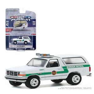 Greenlight 1:64 1993 Ford Bronco U.S. Customs & Border Protection Patrol 42920 D