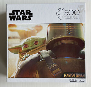 Buffalo Games 3368 Star Wars The Mandalorian Baby Yoda Jigsaw Puzzle - 500 Piece