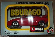 Burago- Lamborghini Countach 5000-1/24 Burago