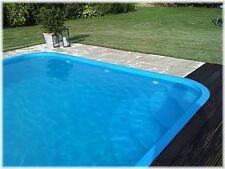 Pool - Polypropylen Schwimmbecken - 4x2,5m
