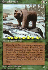 2x Grizzlybären (Grizzly Bears) Magic limited black bordered german beta fbb for
