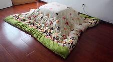 Kotatsu Futon Blanket Square 205x205cm Japanese Foot Wamer Table Futon Comforter