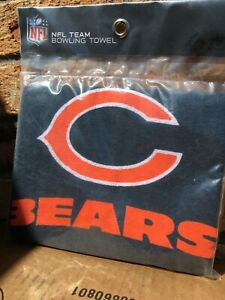Official NFL Chicago Bears Bowling Towel,
