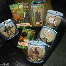 7 Figure LOT Toy Biz & Vault Lord of the Rings Arwen Frodo Gandalf wizard horses