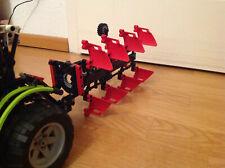 Lego-Technic/Technik 4-Schar Volldrehpflug für Traktor SET 42054/8063/8284