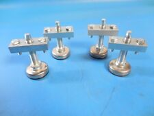 Heavy Duty Commercial Adjustable Leg Leveling Furniture Glides w/ Brackets (4)