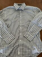 Non Iron Nordstrom Mens Check Traditional Fit Dress Shirt Size 17 33 Smartcare