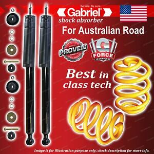 Front Ultra Shocks + Lowered King Coil Springs for Mercedes Benz C180 C200 W202