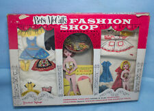 Vintage Betsy McCall's Fashion Shop Embroidery Set by Standard Toykraft Wow