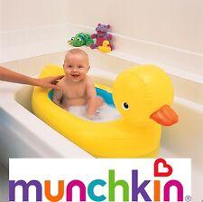 Munchkin bianco caldo GONFIABILE Papera vasca da bagno Baby per bambini gonfiabile CASA VIAGGIO