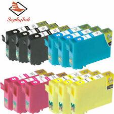 Lot de 12 cartouches compatibles Epson Stylus SX230, SX235, SX235W, SX420W