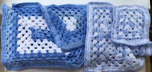 Two new Crochet baby Blankets