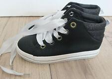 MISS SIXTY cooler High Sneaker Gr. 35 NEU Schwarz   )