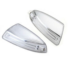 2pcs R&L Rear Mirror Turn Signal Light For Benz W164 ML300 ML450 ML500 2008-2014
