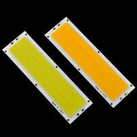 Warm/Cool White High Power 10W 1000LM COB LED Strip Light Lamps 120x36mm 12-14V