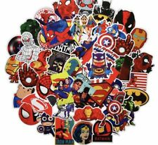 10 Random Superheroes Character Stickers Decals - loot bag diary school party
