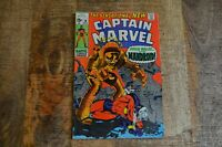 Captain Marvel #18 Mandroid First Appearance November 1969 GD+ 2.5