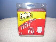 Endust Vacuum Cleaner Filter for Dirt Devil F12