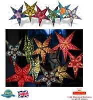 60cm HANGING STAR LIGHT Party Paper Lamp Shade Lantern Christmas Decoration Star