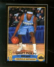 2003-04 Topps Black Border Carmelo Anthony Denver Nuggets RC Rookie 315/500