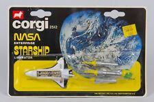 Corgi Juniors 2512 NASA Enterprise & Blake's 7 Liberator. MINT/CARDED. 1970's