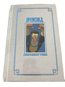INVINCIBLE Compendium 3 Hardcover New Sealed Robert Kirkman HC Blue Foil Image 1