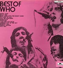 "THE WHO ""BEST OF THE WHO"" ORIG FR 1970 EX-/EX+"