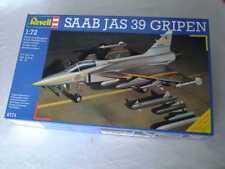 Saab JAS 39 Gripen 1:72 Revell alt (1989) (fast) sehr guter Zustand