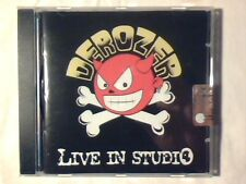 DEROZER Live in studio cd RARISSIMO SIGILLATO VERY RARE SEALED!!!