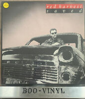 Red Harvest - Saved Rare Indie Rock Vinyl Lp Revord Ex / Ex
