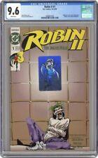 ROBIN II JOKERS WILD 1 CGC 9.6 - JOKER Robin 2 ii ll - Batman Joker's 1991 Lyle