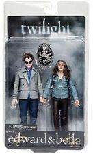"TWILIGHT - Edward & Bella 7"" Action Figure 2-Pack (NECA) #NEW"