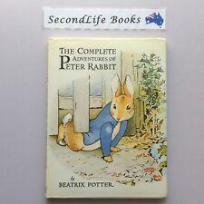 THE COMPLETE ADVENTURES OF PETER RABBIT ~ Beatrix Potter (1984) Hardcover.