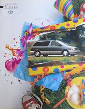 Mint Condition 1998 Toyota SIENNA Brochure  98