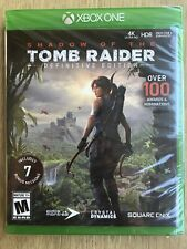 Shadow of The Tomb Raider Definitive Edition Xbox One New Sealed Fast Ship
