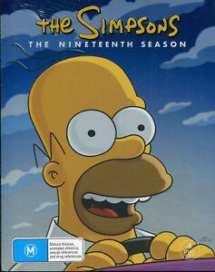 The Simpsons Nineteenth Season 19 DVD NEW Region 4