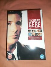 RICHARD GERE COLLECTION SIX DVD SET NEVER USED PRISTINE CONDITION FREE POSTAGE