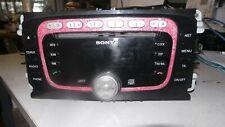 ford focus sony radio cd player 7M5T-18C939-EB + code 2008-2010 mk2 PINK GLITTER