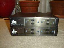DBX 150X Pair, Type I Noise Reduction, Vintage Units