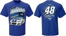 Jimmie Johnson Checkered Flag #48 Lowe's Flat Out Tee FREE SHIP