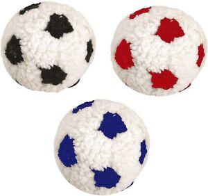 J&s Berber 23 Cm Stuffed Plush Dog Puppy Soft Squeaky Football Toy Da228 Ball