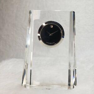 "HOWARD MILLER 645-727 ""Paragon"" A  Crystal Clock"